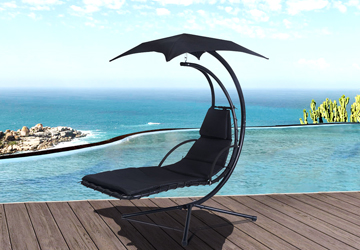 How about the balcony swing chair?