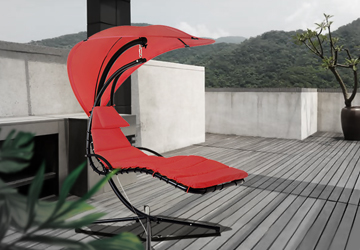 How to maintain the balcony swing chair
